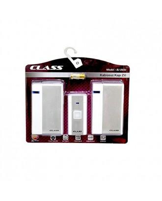 CLASS Kablosuz Kapı Zili Çift Alıcılı BJ-9646