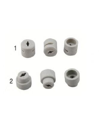 10 mm cam başlık porseleni (düz-konik)