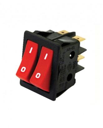İkili ışıksız anahtar (16 amper)