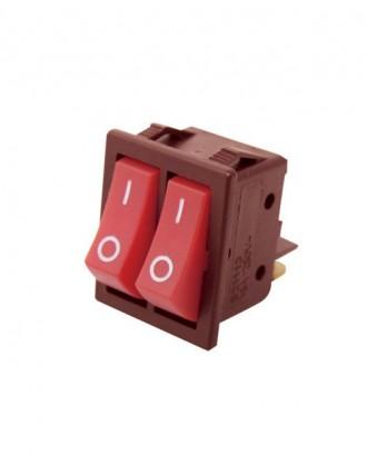 İkili ışıksız anahtar (25 amper)