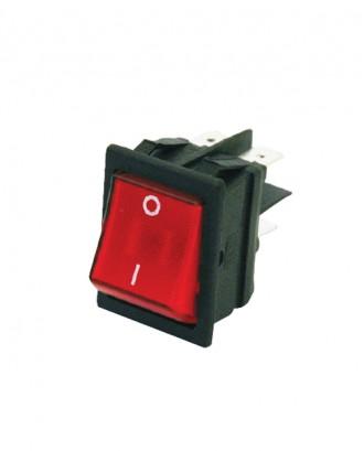 Geniş ışıklı anahtar (16 amper)