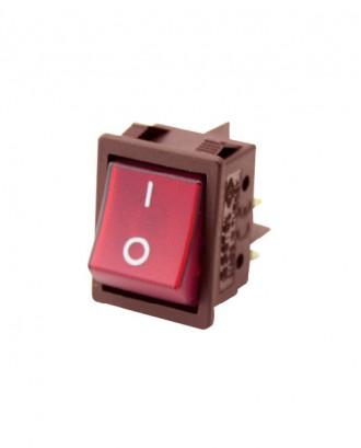 Geniş ışıklı anahtar (25 amper)