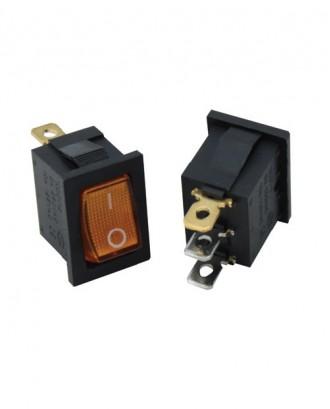 Mini ışıklı anahtar (sarı