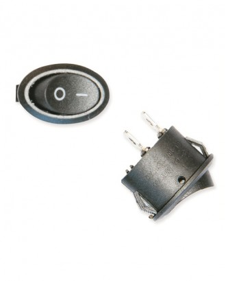 Oval ışıksız anahtar