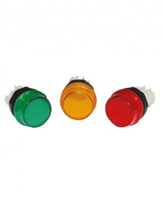 22 mm. sinyal lambası yeşil-sarı-kırmızı