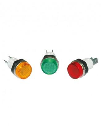 14 mm. sinyal lambası sarı-yeşil-kırmızı