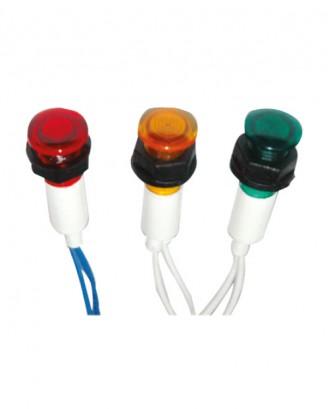 10 mm kablolu sinyal lambası