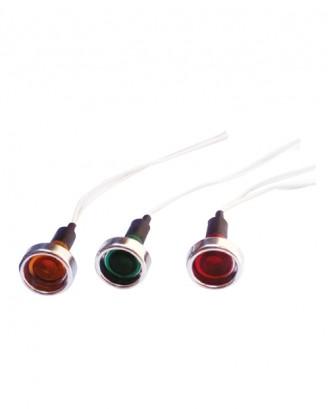 10 mm kablolu sinyal lambası 50 adet