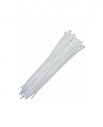 Beyaz Kablo Bağları En 4,8