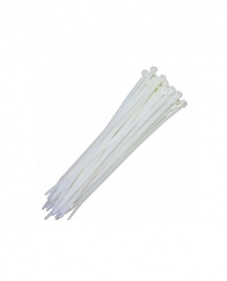 Beyaz Kablo Bağları En 9,0