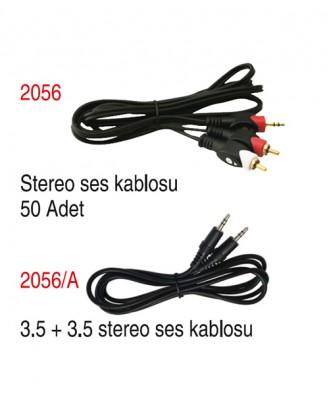 Stereo ses kablosu / 3.5 3.5 stereo ses kablosu