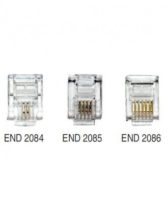 6p-2c / 6p-4c / 6p-6c  Plug 100 Adet