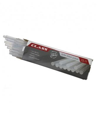 Şeffaf silikon çubuk (Made in Taiwan) 1Kg