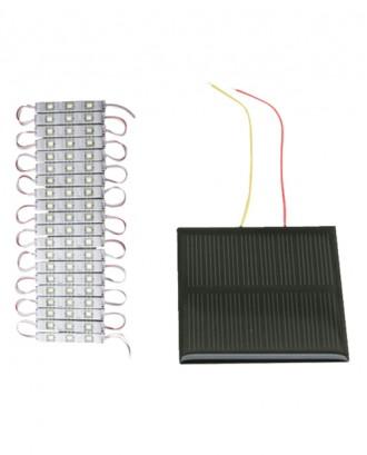 3'lü led (Deney için) - Güneş enerji paneli büyük