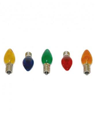 E-14 parfüm ampul renkli (10 W) 50 adet