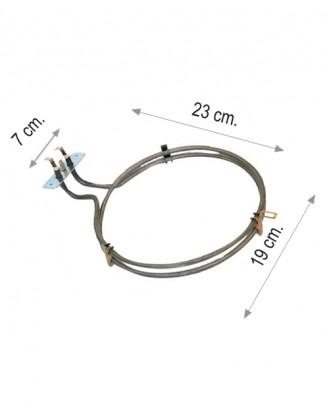 Turbo fırın rezistansı 2200 W 220 V 6.5 Cr-Ni