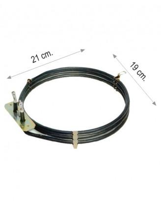 Turbo fırın rezistansı 2500 W 220 V 6.5 Cr-Ni