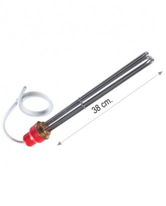 "2"" 10000 W daldırma rezistansı 4x2,5 mm. 3 mt kablolu 220-380 V 8.5 Cr-Ni"