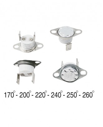 Çay ve kahve makinası termikleri 170-260 derece aralığı