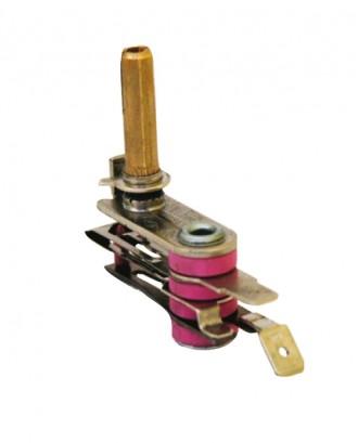 Akımlı ocak termostatı 10 amper (Mil boyu : 2.3 cm.)