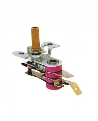 Akımlı sanayi ütü termostatı 10 amper (Mil boyu : 1.7 cm.)